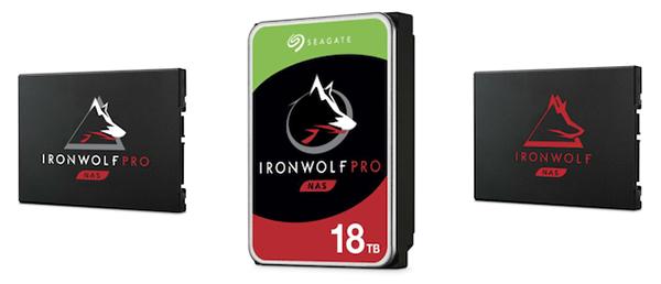 Seagate: nuovi drive IRONWOLF fino a ben 18 TB