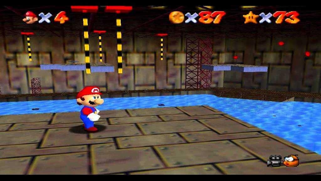Super Mario 64: dove trovare tutte le stelle nell'Abisso Acquatico