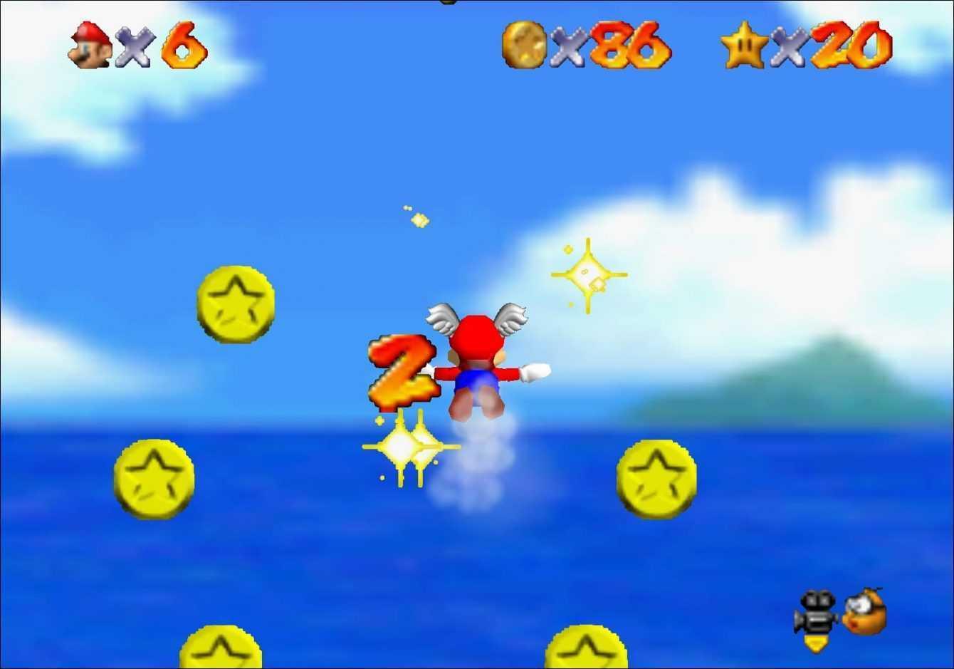 Super Mario 64: tutte le stelle della Battaglia di Bob-ombe