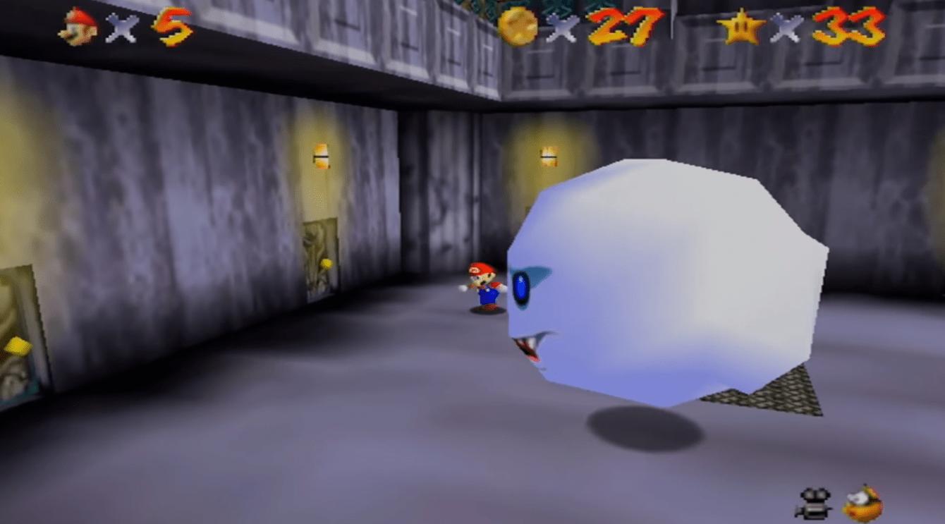 Super Mario 64: tutte le stelle del Rifugio di Re Boo