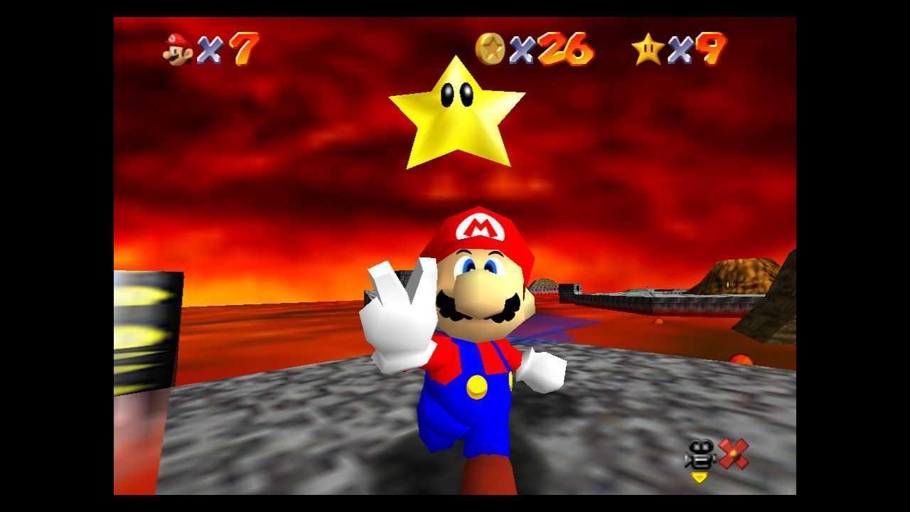 Super Mario 64: dove trovare tutte le stelle nel Lago di Lava