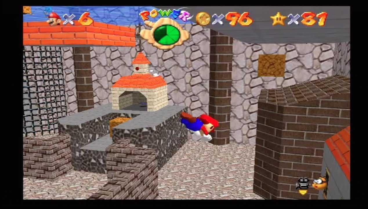 Super Mario 64: come trovare tutte le stelle di Bagna Asciuga
