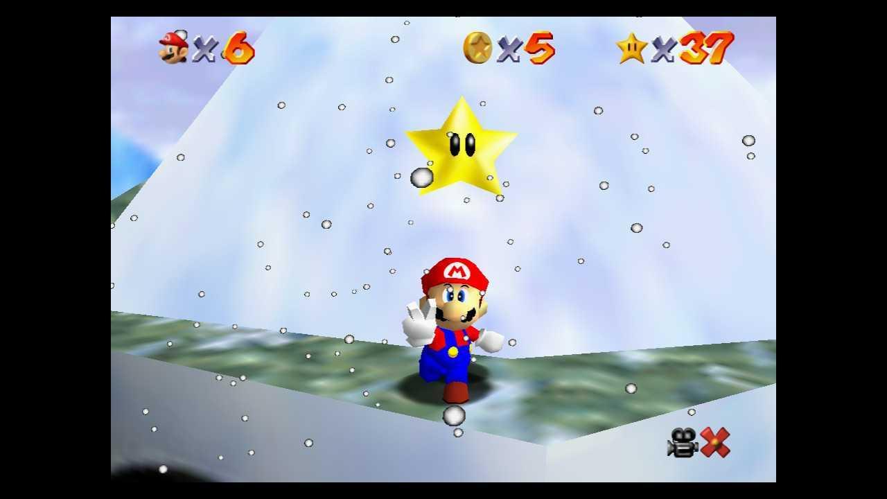 Super Mario 64: come trovare tutte le stelle di Terra Innevata