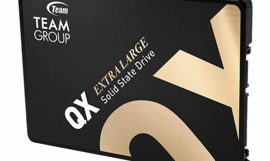 TEAMGROUP: la serie QX offre fino a 2560TBW di vita di scrittura