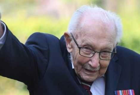 Tom Moore - un biopic sul centenario più famoso d'Inghilterra