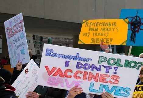 No vax: una mappa ne evidenzia i danni causati