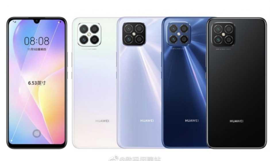 Huawei Nova 8: render design e caratteristiche