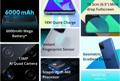 Realme C15 Qualcomm Edition: il battery phone economico