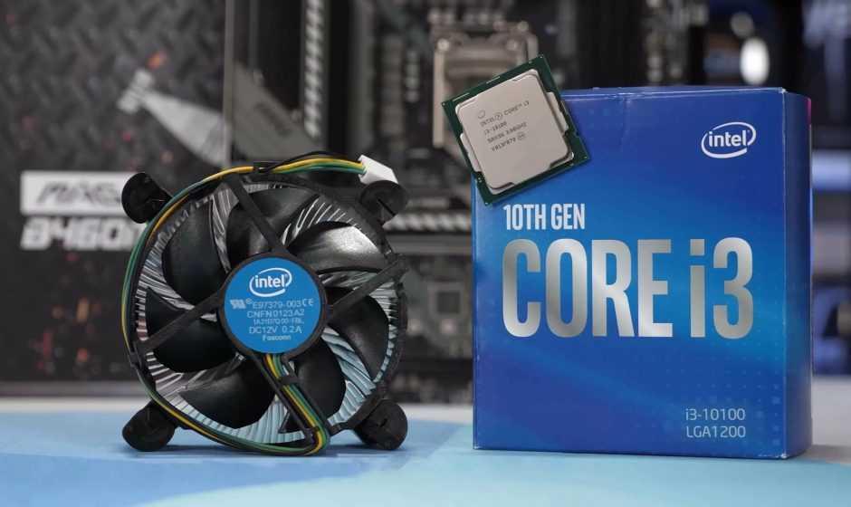 Intel i3-10100F: 4C/8T a meno di 100 euro