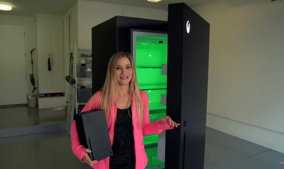 Xbox Series X: la console diventa… un frigo?