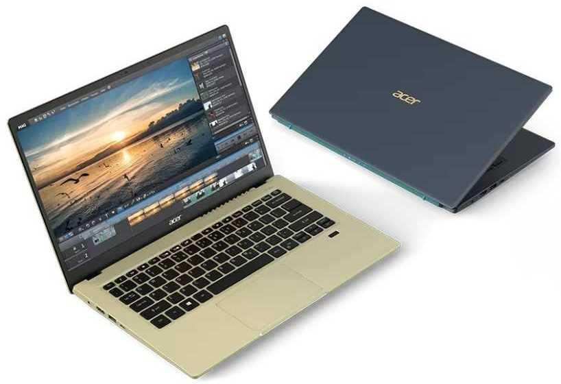 Acer Swift 3X: il primo laptop con grafica Intel Iris Max