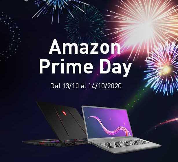 Sconti fino a 530 euro sui laptop MSI per l'Amazon Prime Day 2020