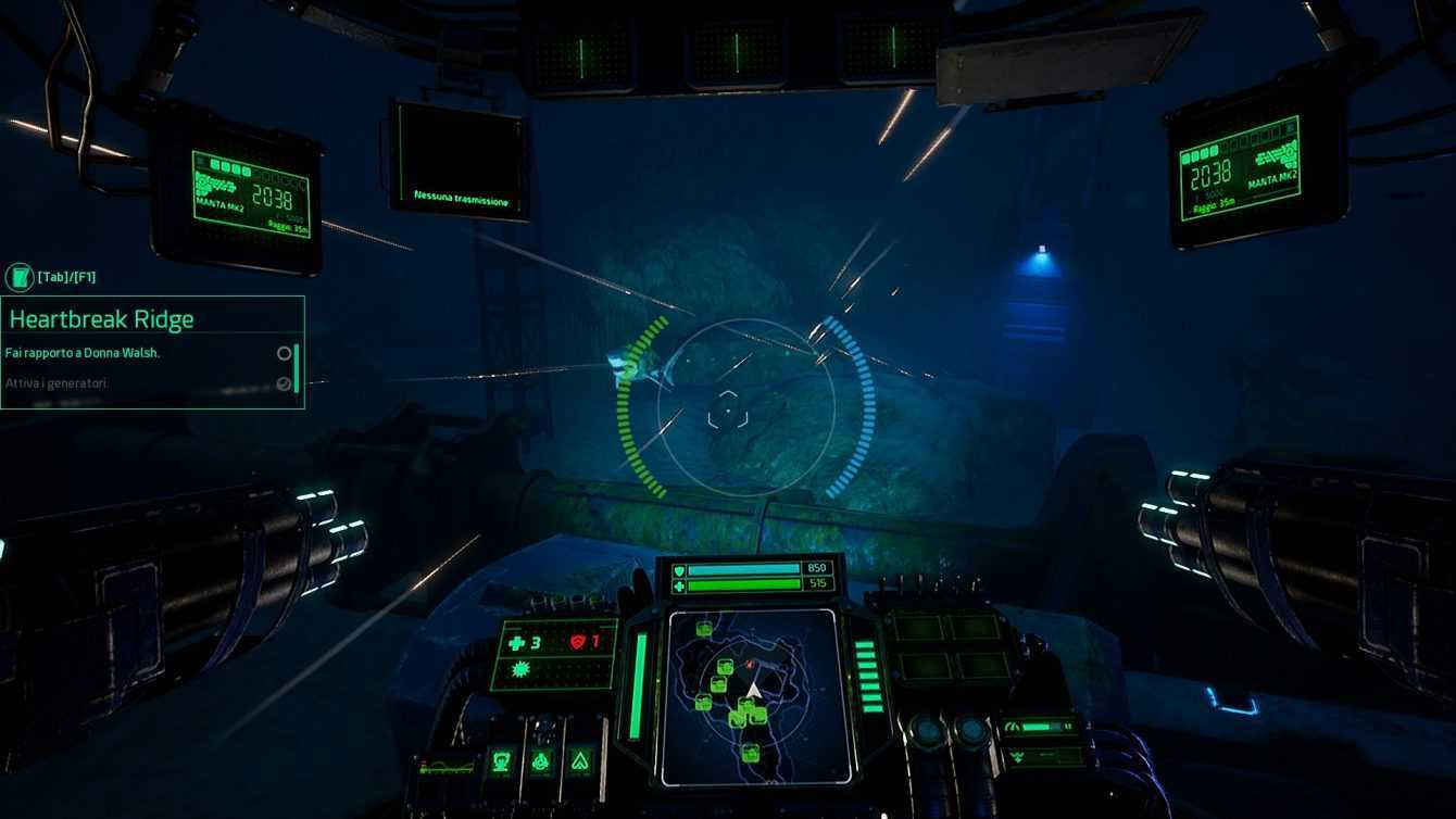 Recensione Aquanox Deep Descent: ecco cosa ne pensiamo