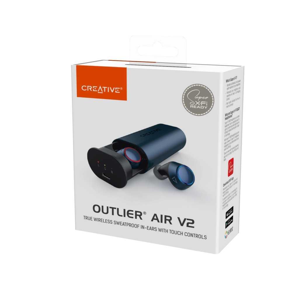 Outlier Air V2: le nuove cuffie True Wireless di Creative