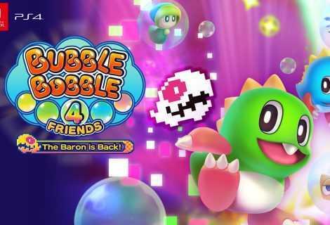 Square Enix Presents: annunciato Bubble Bobble 4 Friends: The Baron is Back per PC