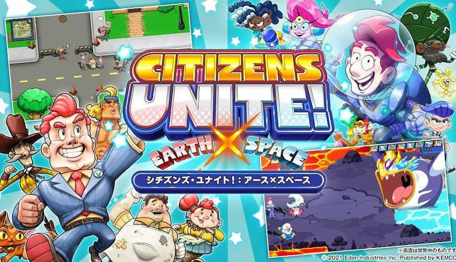 Citizens Unite: un trailer per la riedizione PS4 e Switch