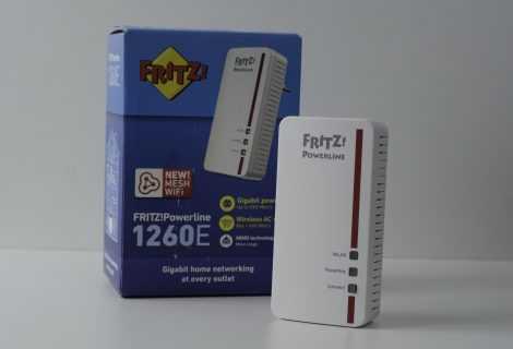 Recensione Fritz!PowerLine 1260E: funziona bene come Wi-Fi Extender?