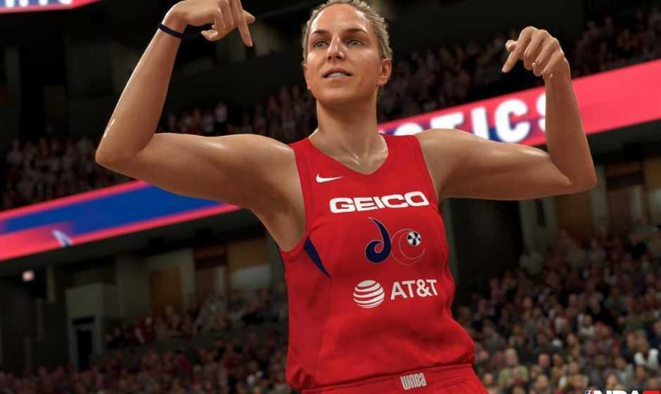 NBA 2K21: si potrà creare la propria giocatrice WNBA su PS5 e Xbox Series X!