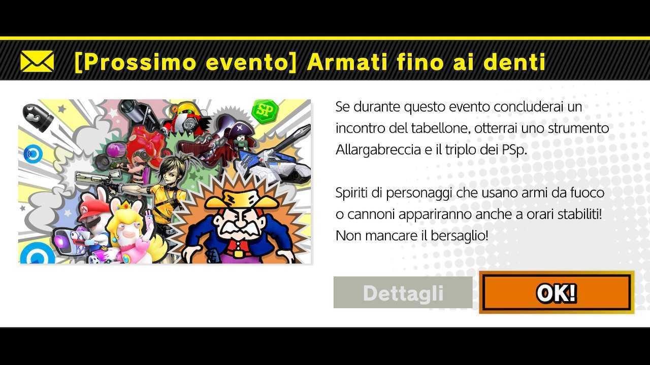 """Super Smash Bros. Ultimate: evento """"Armati fino ai denti"""""""
