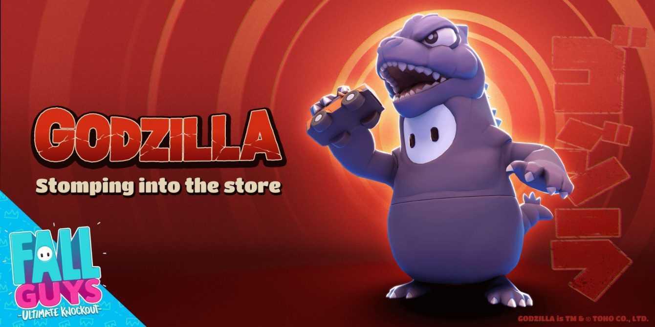 Fall Guys: per il Godzilla Day un costume a tema in arrivo!