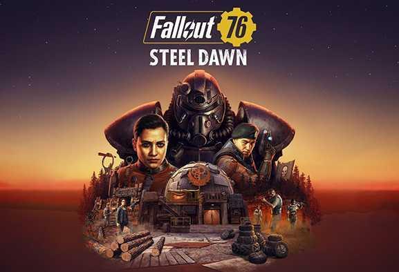 Fallout 76: nuovo trailer di gameplay per il DLC gratuito Alba d'Acciaio