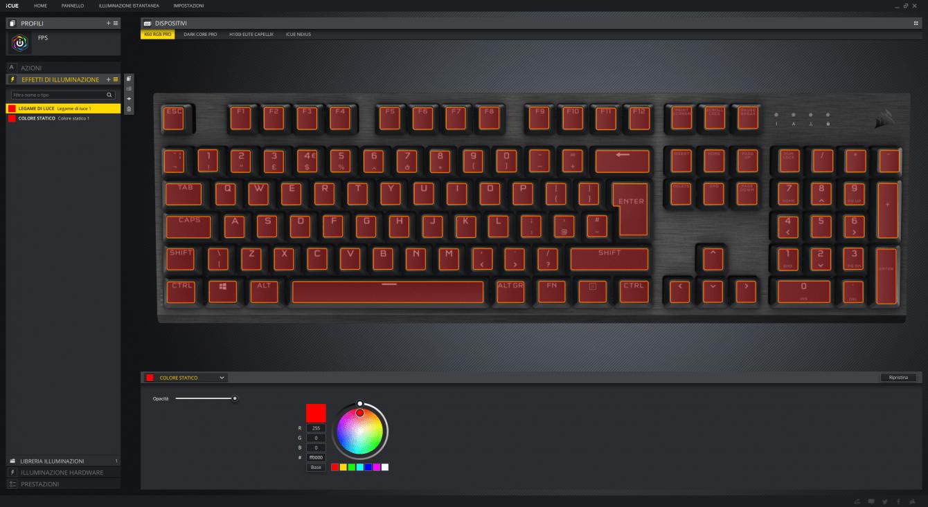 Recensione Corsair K60 RGB PRO: il giusto compromesso?