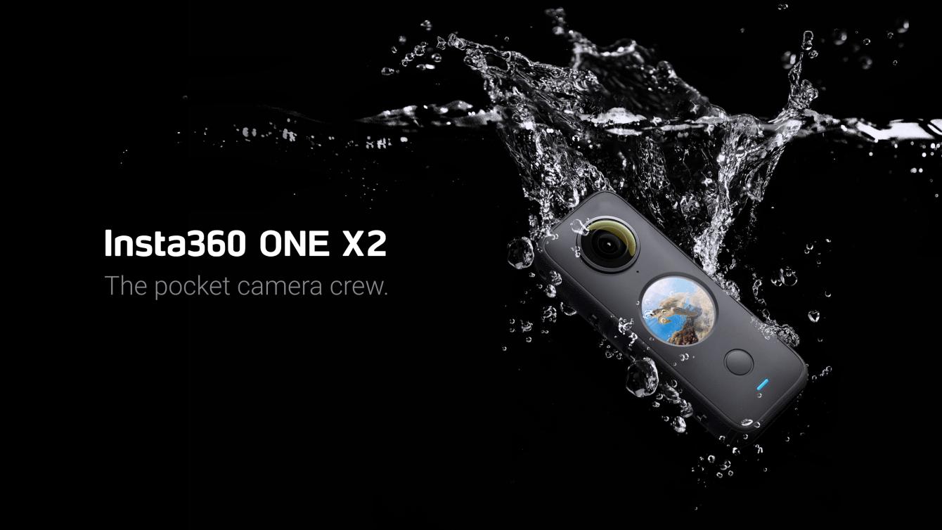 Insta360 ONE X2: video 5.7K stabilizzati a 360°