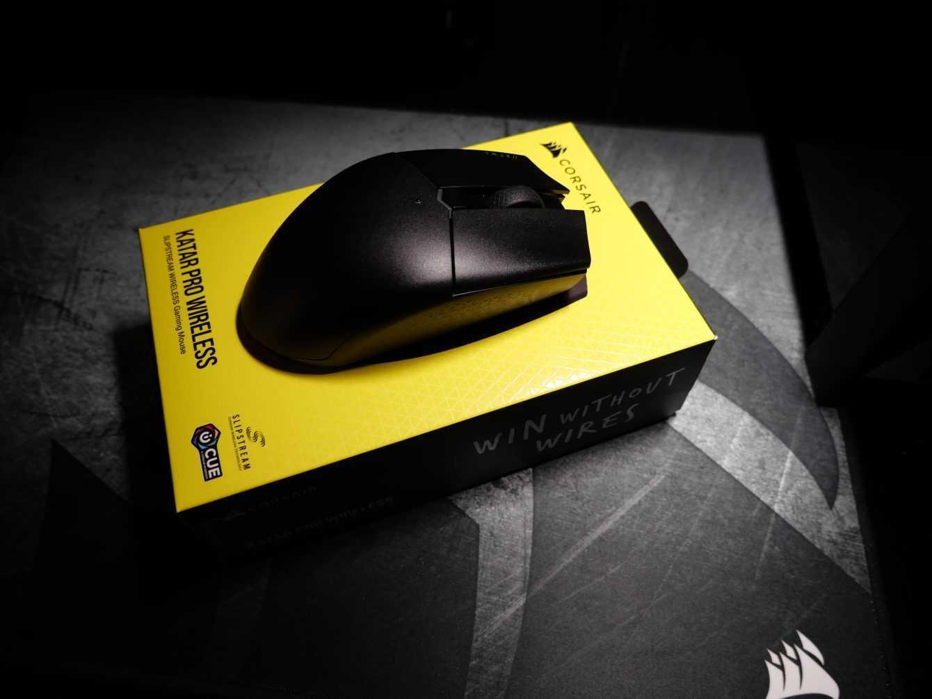 Recensione Corsair KATAR PRO WIRELESS: un mouse tutto da scoprire