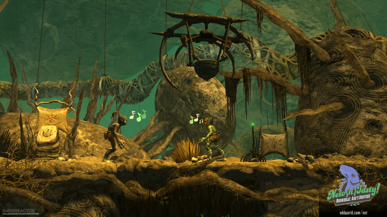 Recensione Oddworld: Abe's Oddysee New n Tasty! Abe's back!