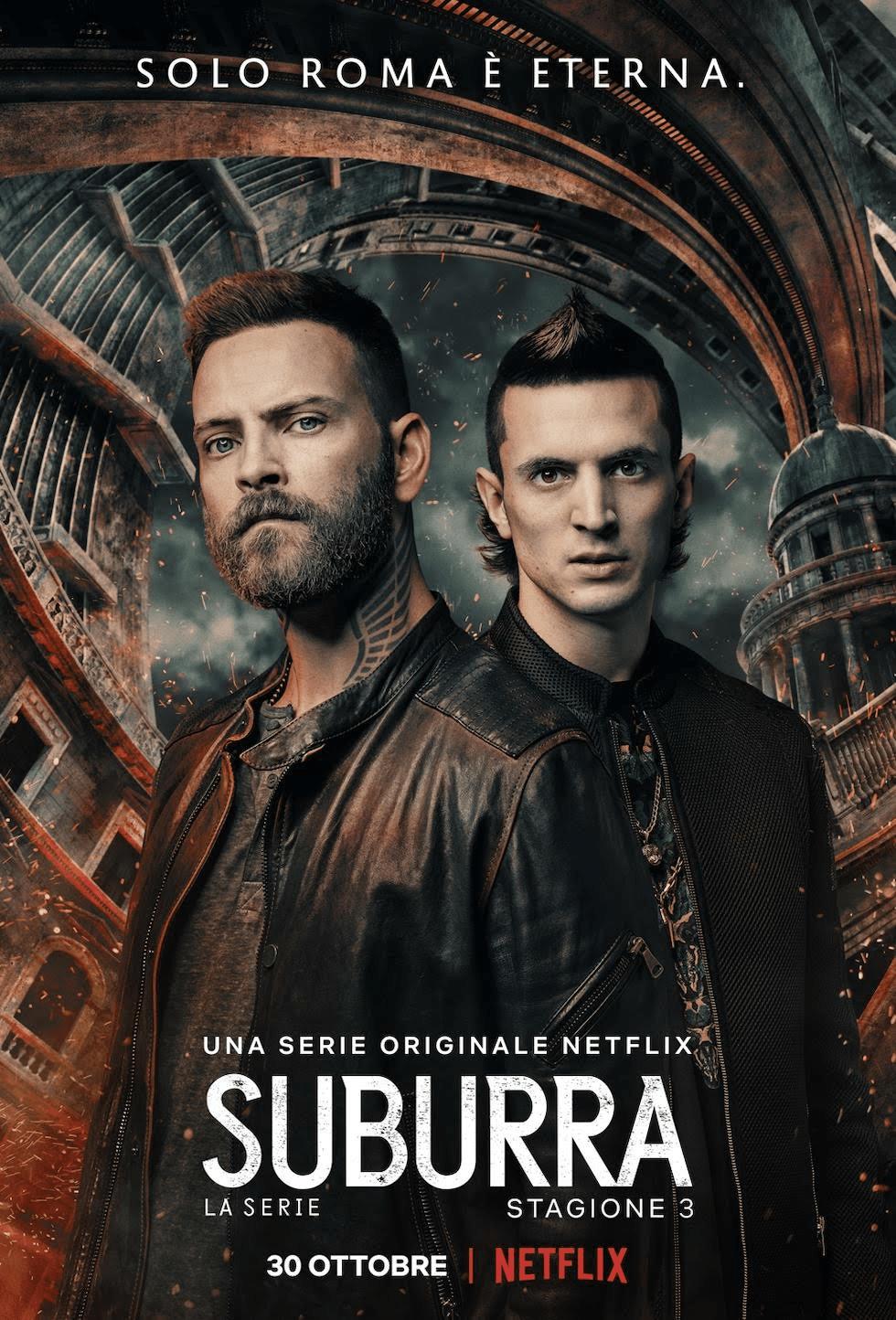 Suburra – La terza stagione su Netflix dal 30 ottobre
