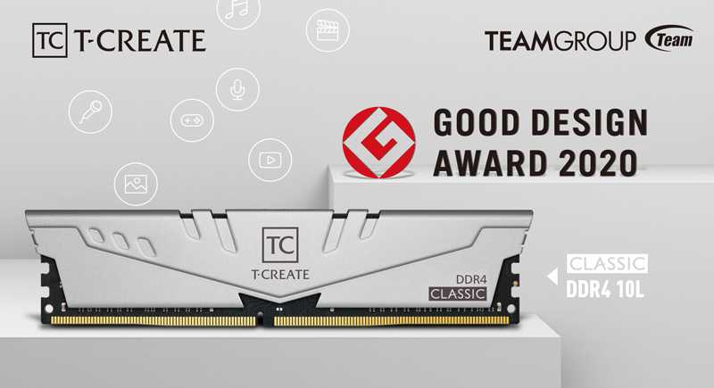 T-Create Classic 10L: le RAM di TeamGroup per i creativi