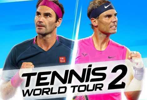 Tennis World Tour 2: disponibile su Nintendo Switch