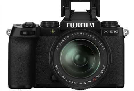 FUJIFILM X-S10: disponibile aggiornamento firmware