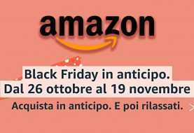 Amazon: parte il Black Friday in anticipo