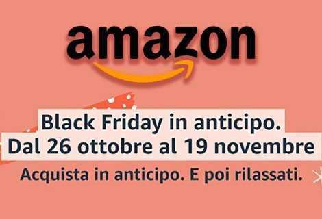 Amazon: parte il Black Friday in anticipo