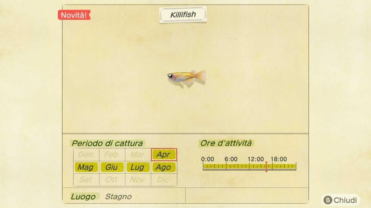 Animal Crossing: New Horizons, i pesci e gli insetti di Ottobre