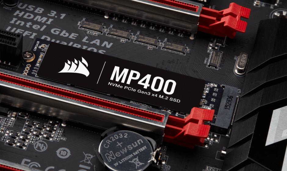 Corsair MP400: SSD NVMe fino a 8 TB