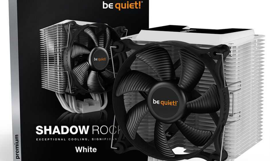 Shadow Rock 3 White: Be quiet! pensa agli amanti del bianco