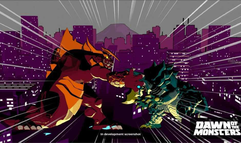 Dawn of the Monsters: un gioco kaiju per Nintendo Switch nel 2021