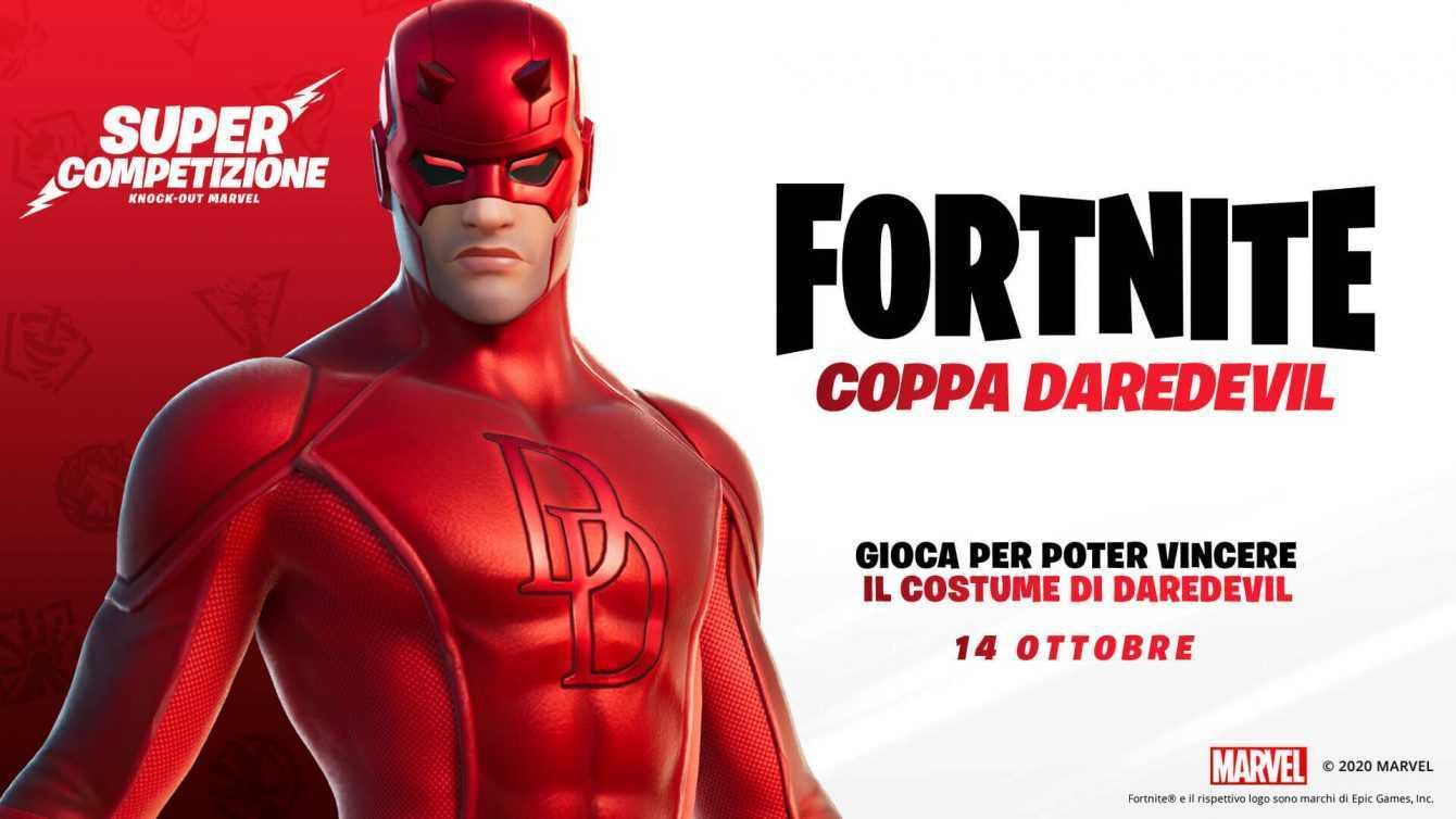 Come avere la skin di Daredevil in Fortnite