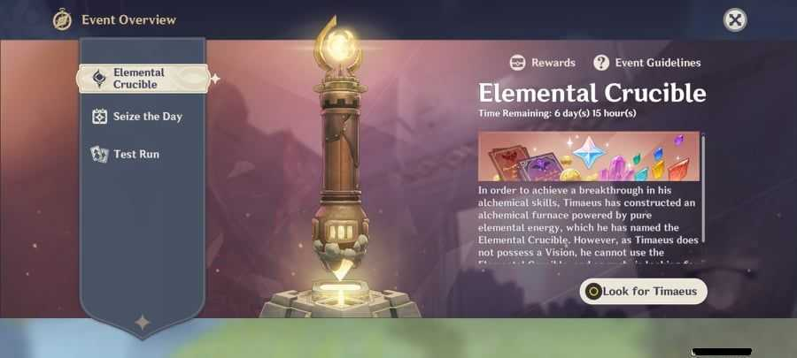 Genshin Impact: arriva Elemental Crucible, il primo evento multiplayer del gioco