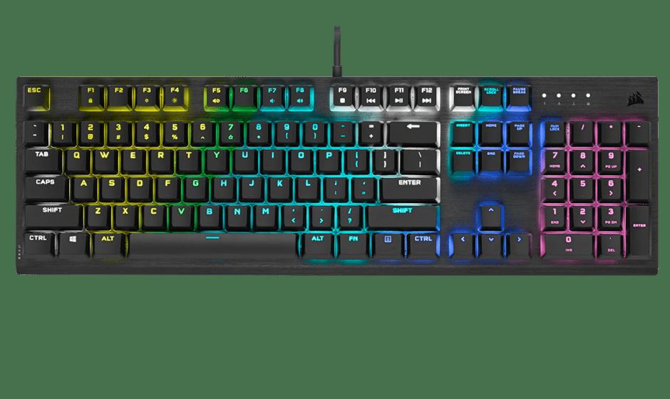 CORSAIR K60 RGB PRO: presentata la nuova tastiera meccanica