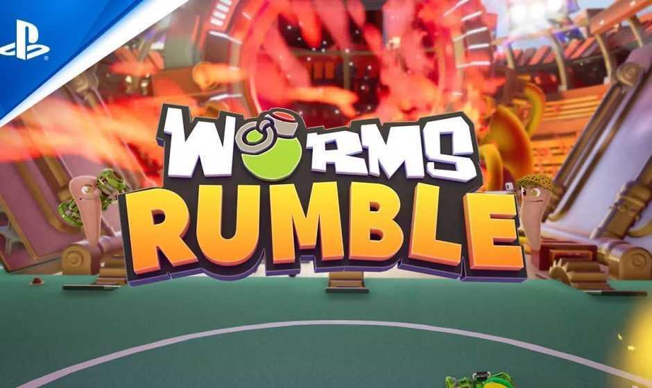 Worms Rumble: svelato il periodo d'uscita per PS5