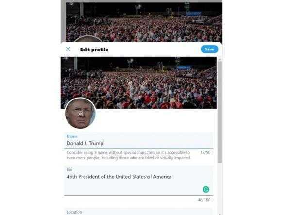 Twitter: scoperta la password di Trump in soli sei tentativi