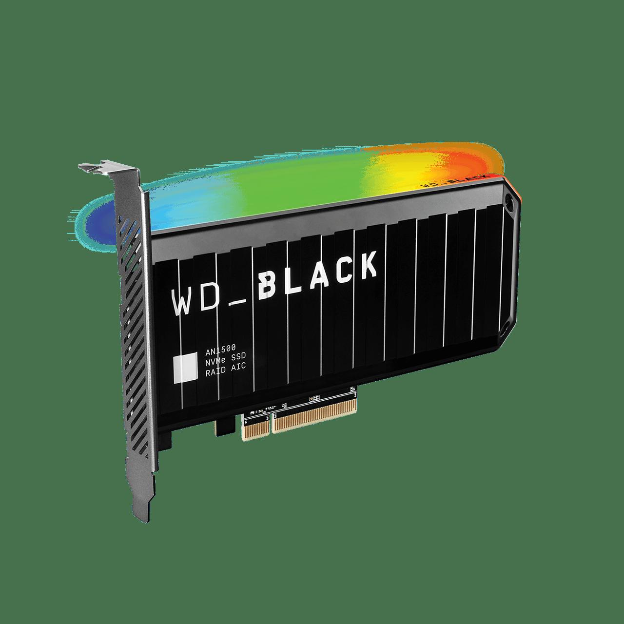 WD BLACK AN1500: un SSD in formato scheda PCIe