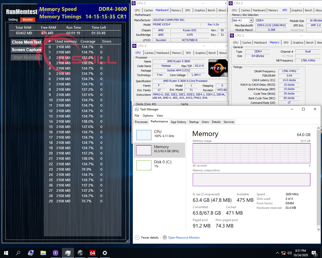 G.Skill aggiorna tutte RAM con nuovi tagli da 64 e 32 GB