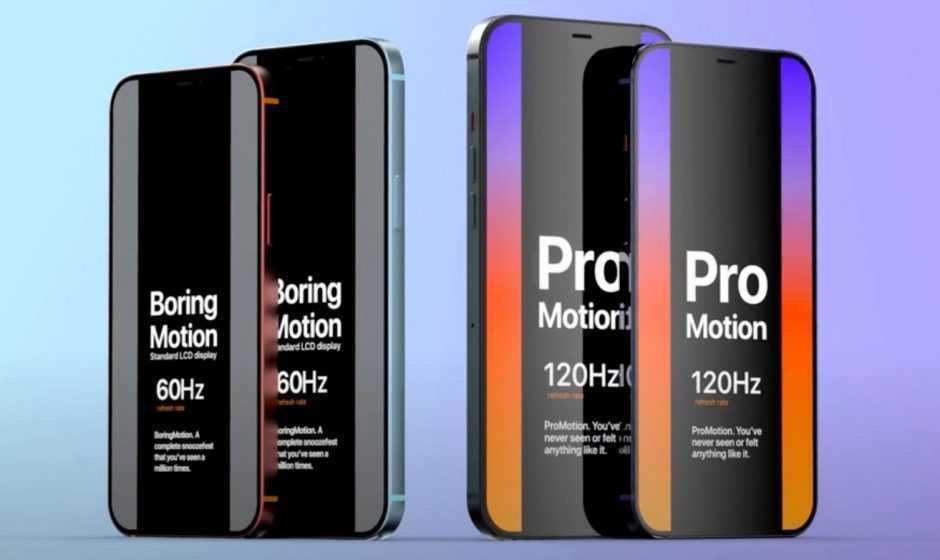 Novità iPhone 13: 120 Hz, Touch ID e addio al Lightning