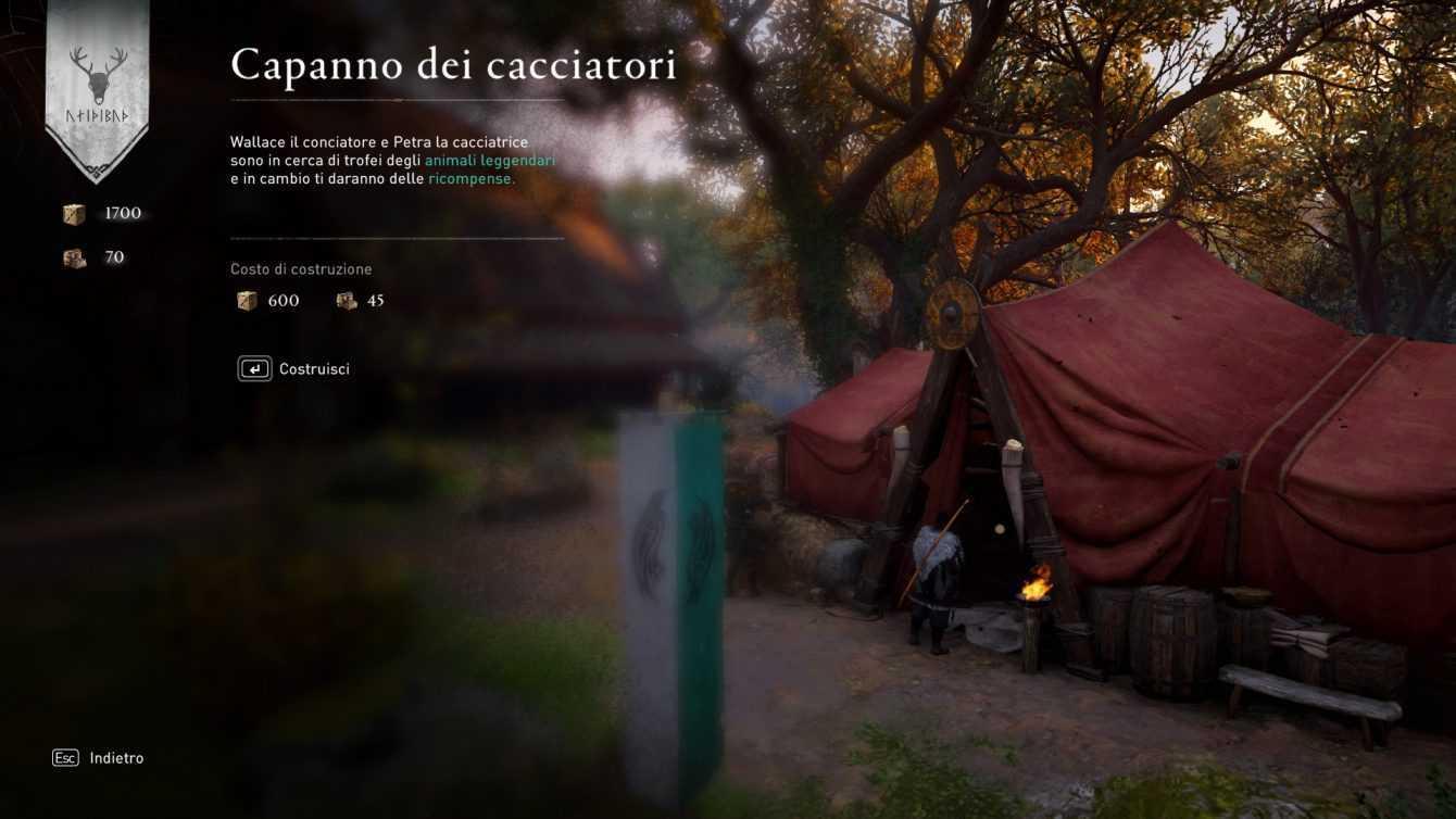 Assassin's Creed: Valhalla, migliori potenziamenti dell'insediamento