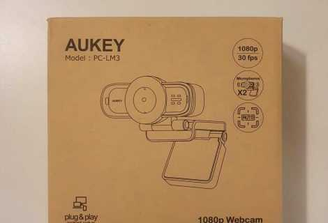 Recensione Aukey PC-LM3: Webcam Full HD per PC