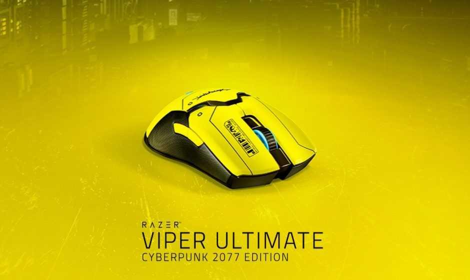 Razer presenta il mouse Viper Ultimate Cyberpunk 2077 Edition